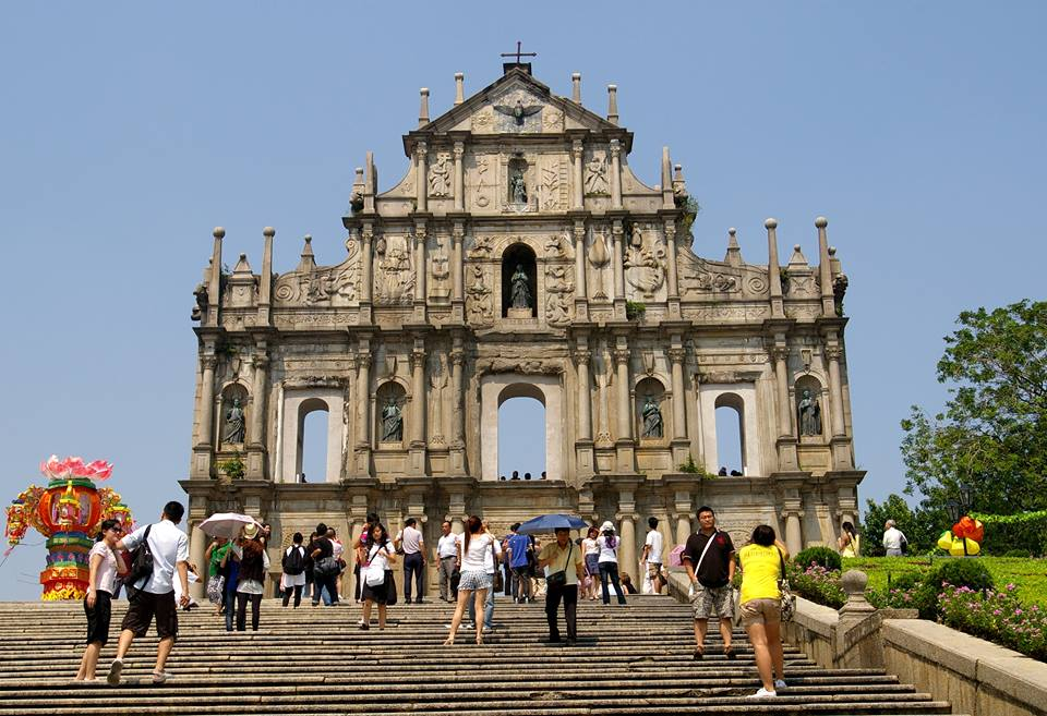 10 Best Places To Visit In Macau - Ruins of St. Paul's