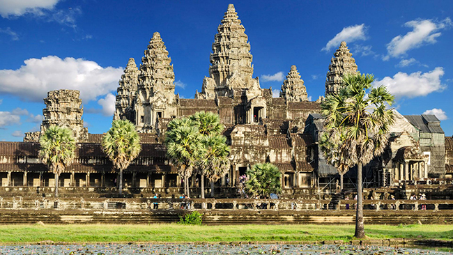 Countries with Historical Places Cambodia