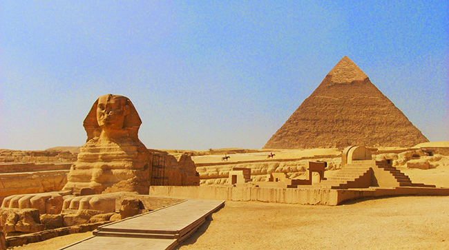 Countries with Historical Places Egypt