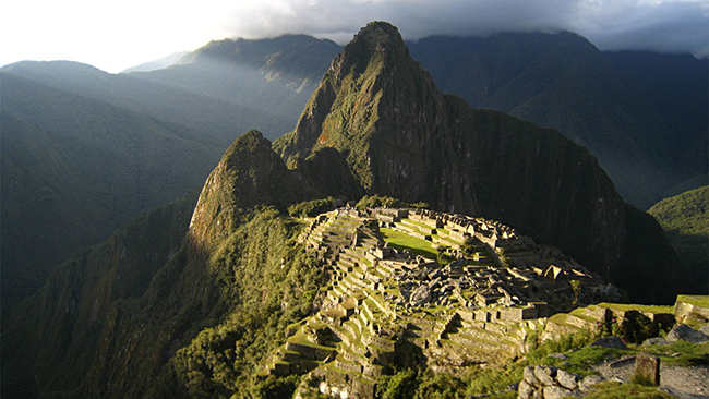 Countries with Historical Places Peru