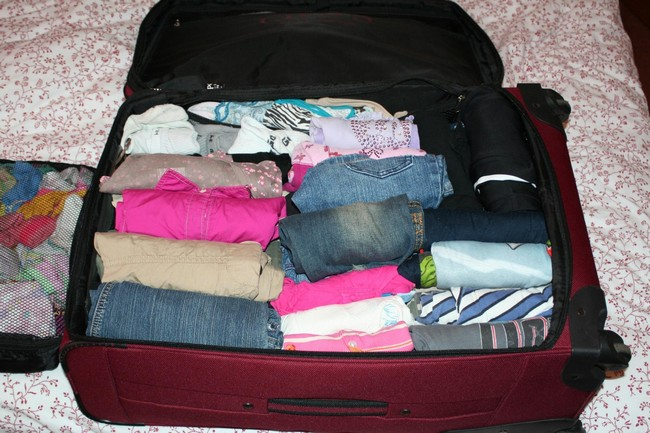 What the How to Pack for a Month