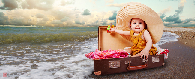 Travelling with baby Cute