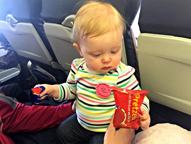 Travelling with baby Hungry