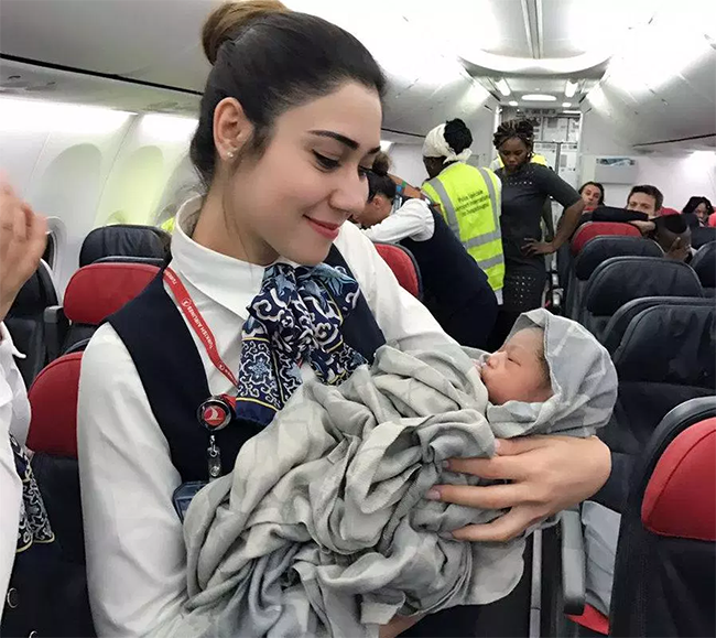 Travelling with baby Kindness