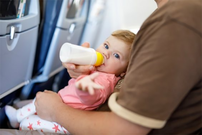 Travelling with baby Pressure
