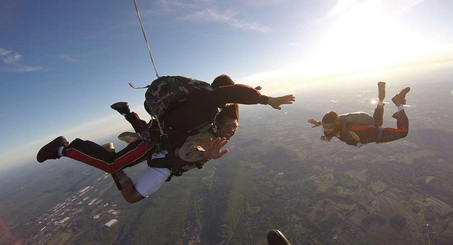 Go Jaw Dropping Places For Skydiving