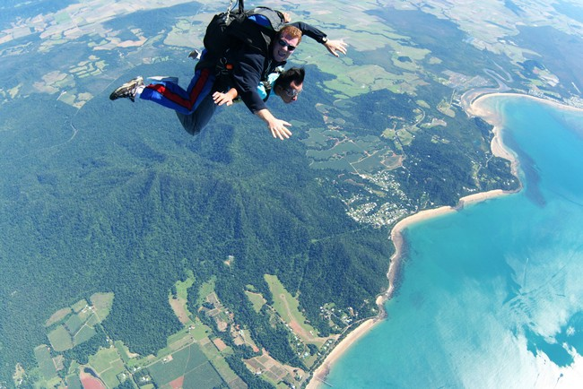 Jaw Dropping Places For Skydiving