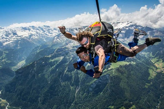 The Jaw Dropping Places For Skydiving