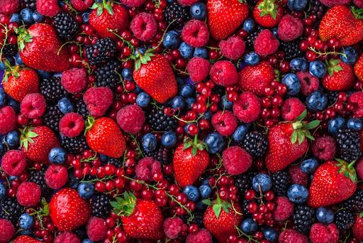 Food to combat high blood pressure As Berries