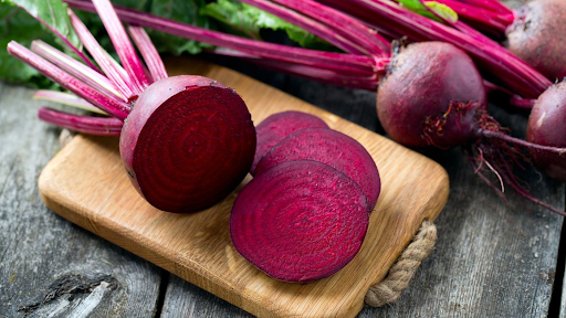 Food to combat high blood pressure As Red Beets