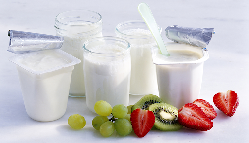 Food to combat high blood pressure As Yogurt and Skim Milk