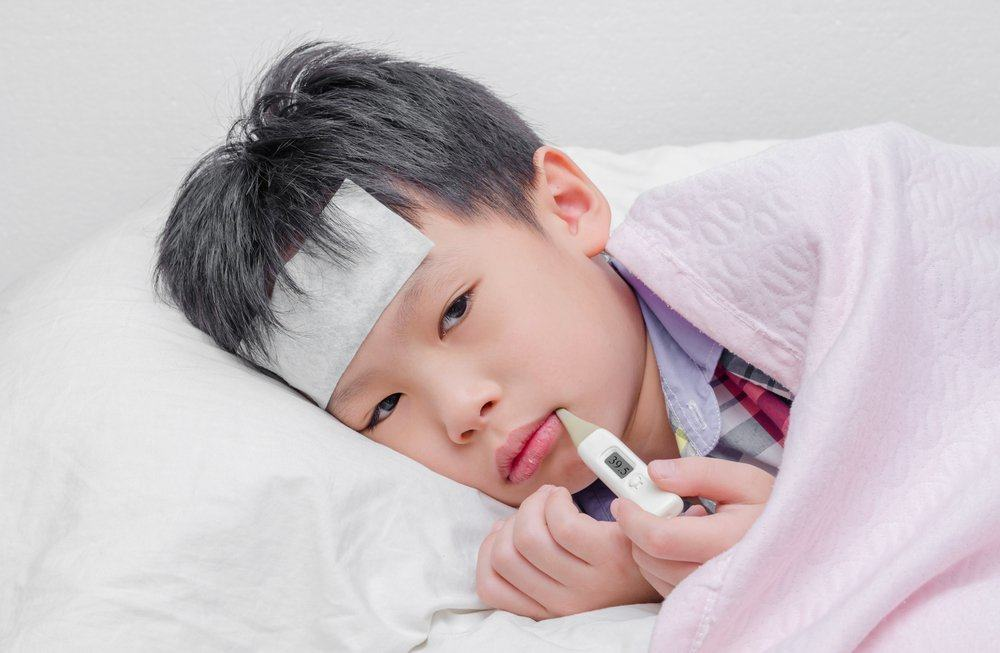 Hand Foot Mouth Disease As Fever