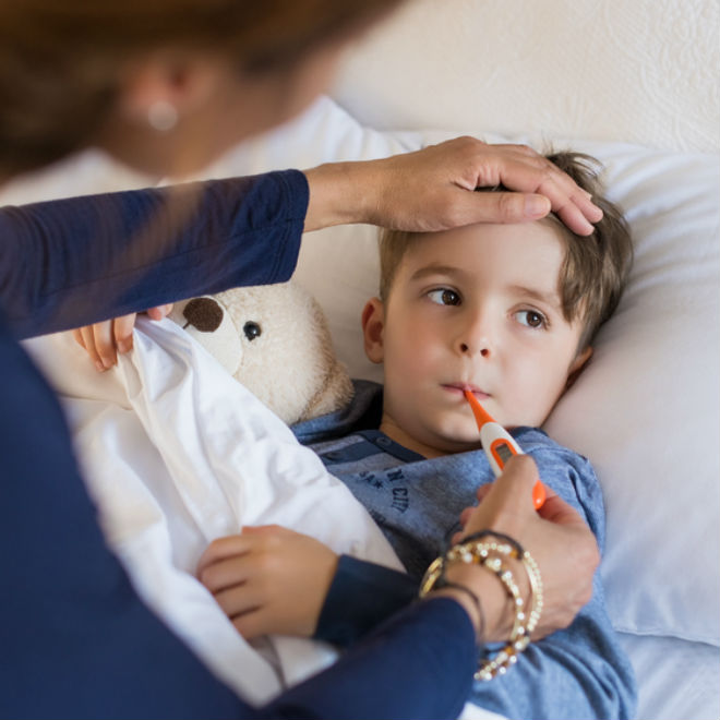 Hand Foot Mouth Disease Spread While Caring for the Sick